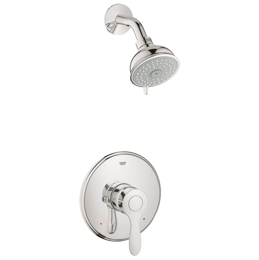 Grohe Showers Shower Only Faucets With Head   Kitchens and Baths by ...