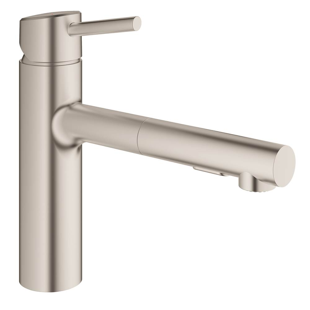 Grohe Retractable Faucets Kitchen Faucets item 31453DC1