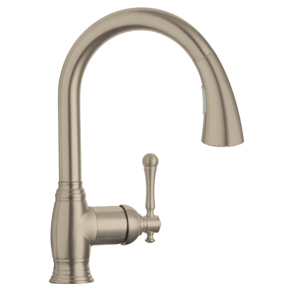 Grohe Bridgeford Kitchen Faucet Brushed Nickel