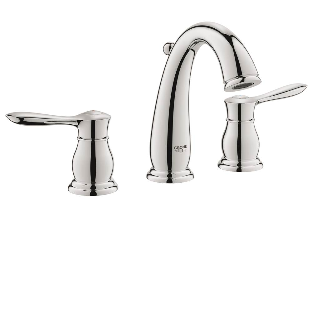 Grohe Bathroom Sink Faucets Widespread Chromes | Kitchens and Baths ...