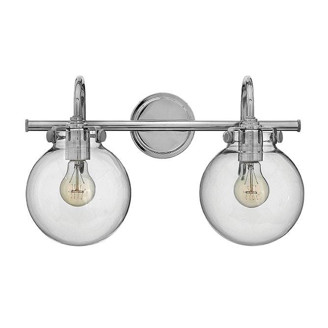 Hinkley Lighting Two Light Vanity Bathroom Lights item 50024CM