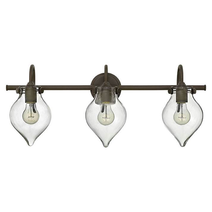 Hinkley Lighting Three Light Vanity Bathroom Lights item 50037OZ