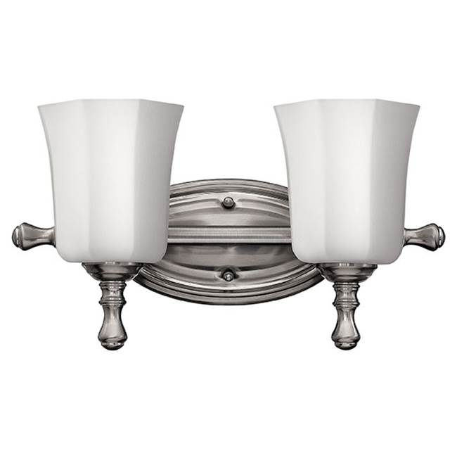 Hinkley Lighting Two Light Vanity Bathroom Lights item 5012BN