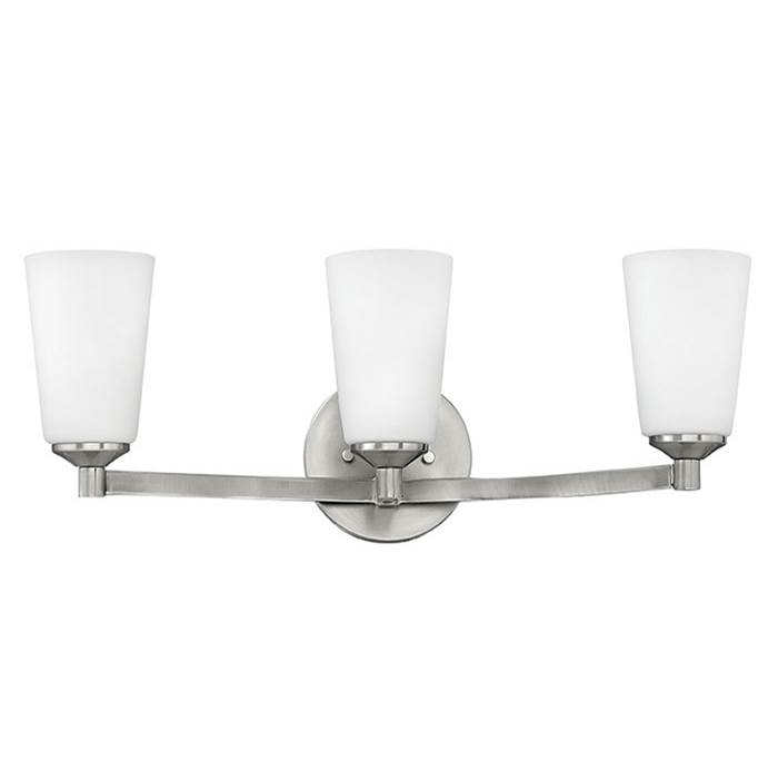 Hinkley Lighting Three Light Vanity Bathroom Lights item 52233BN