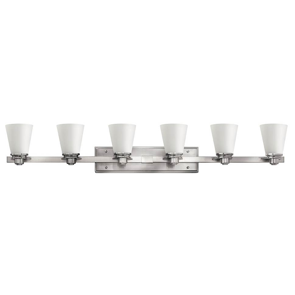 Hinkley Lighting Five Or More Vanity Bathroom Lights item 5556BN