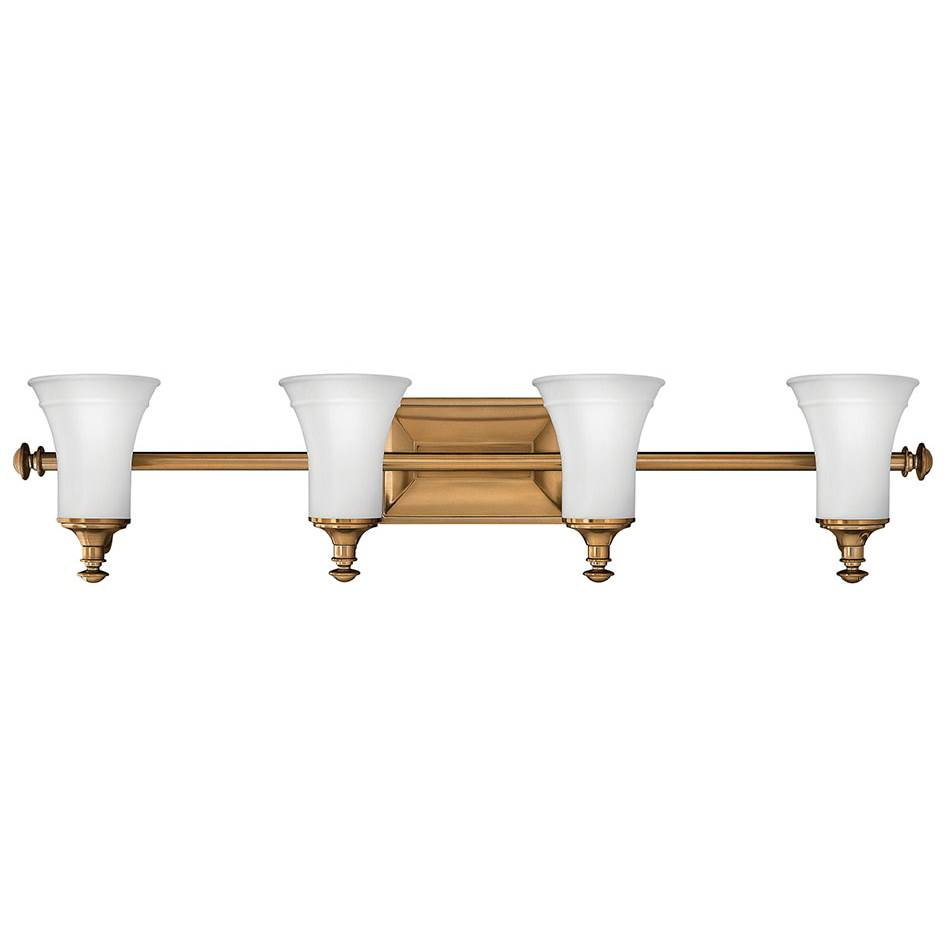 Hinkley Lighting Four Light Vanity Bathroom Lights item 5834BR