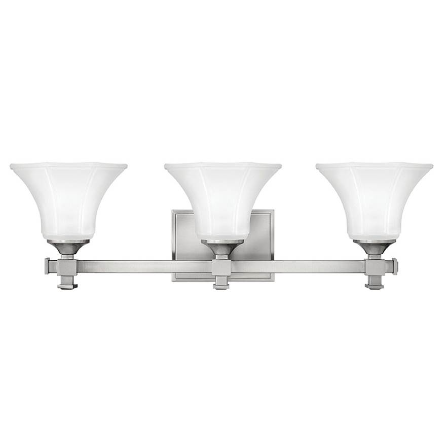Hinkley Lighting Three Light Vanity Bathroom Lights item 5853BN