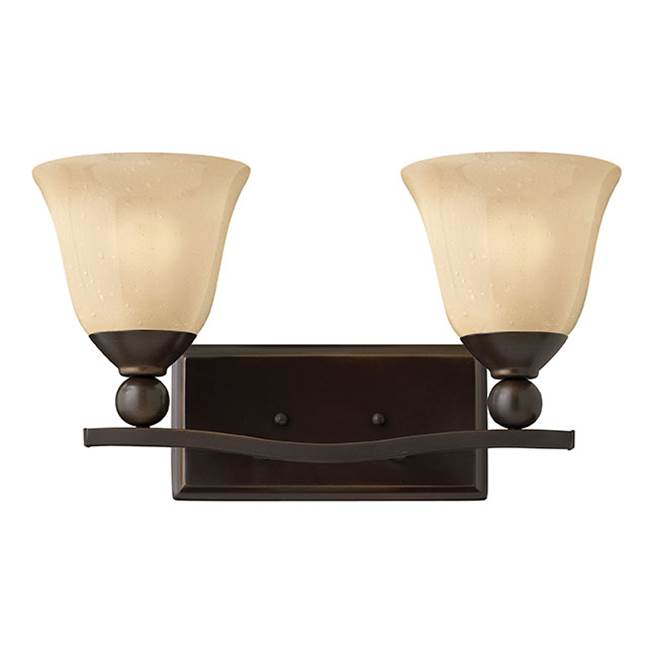 Hinkley Lighting Two Light Vanity Bathroom Lights item 5892OB