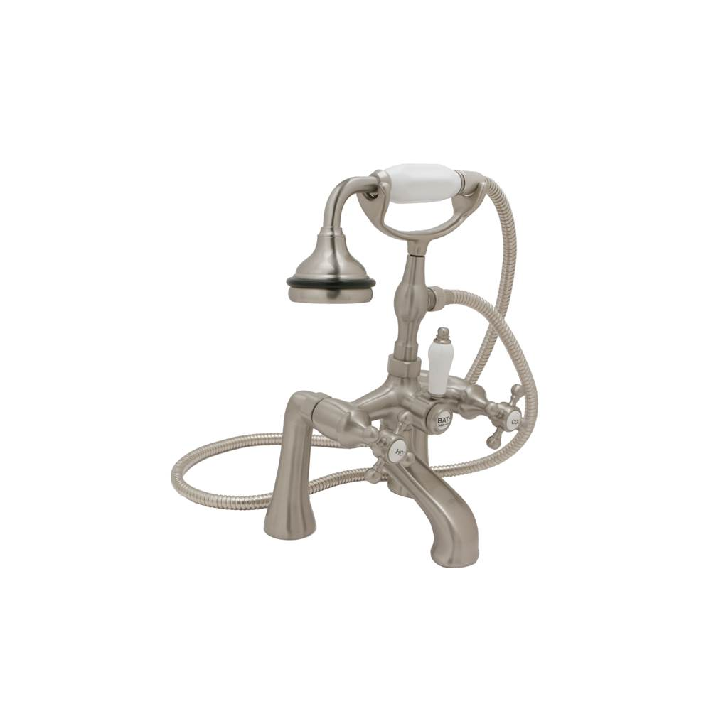 Huntington Brass Deck Mount Roman Tub Faucets With Hand Showers item S7760129