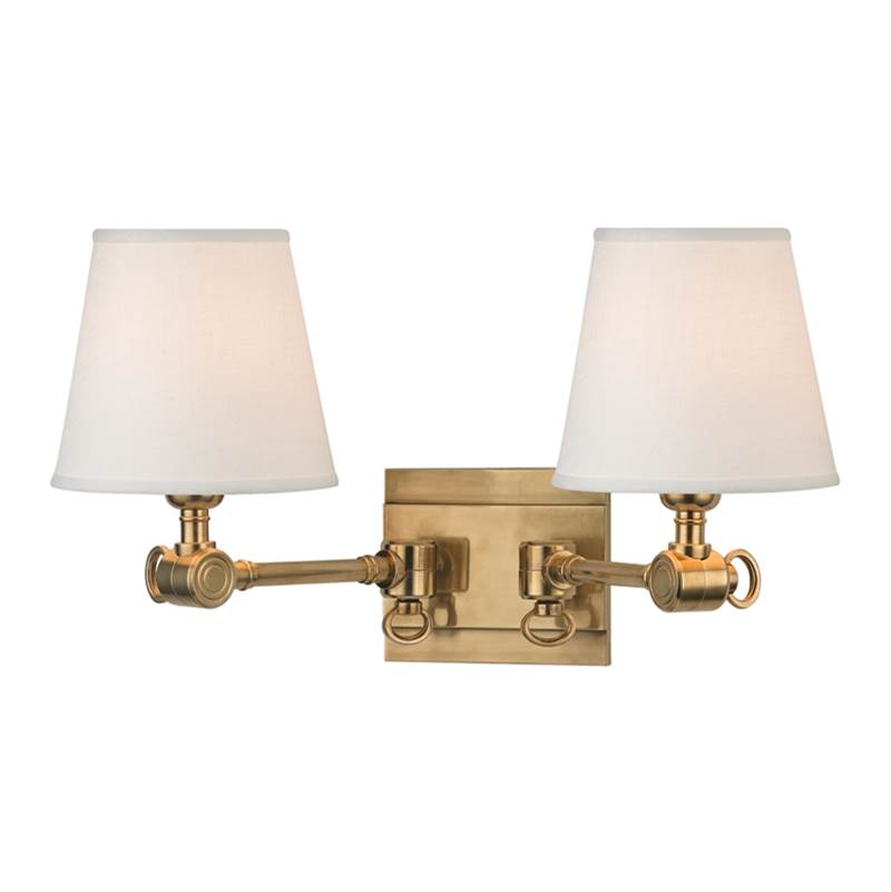 Hudson Valley Lighting Sconce Wall Lights item 6232-AGB