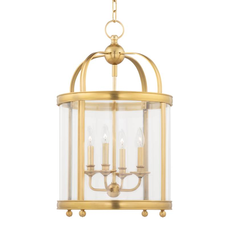 Hudson Valley Lighting Cage Pendants Pendant Lighting item 7816-AGB