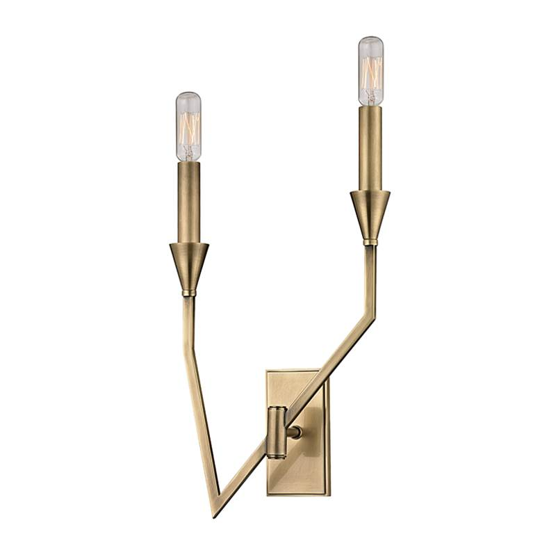 Hudson Valley Lighting Sconce Wall Lights item 8502R-AGB