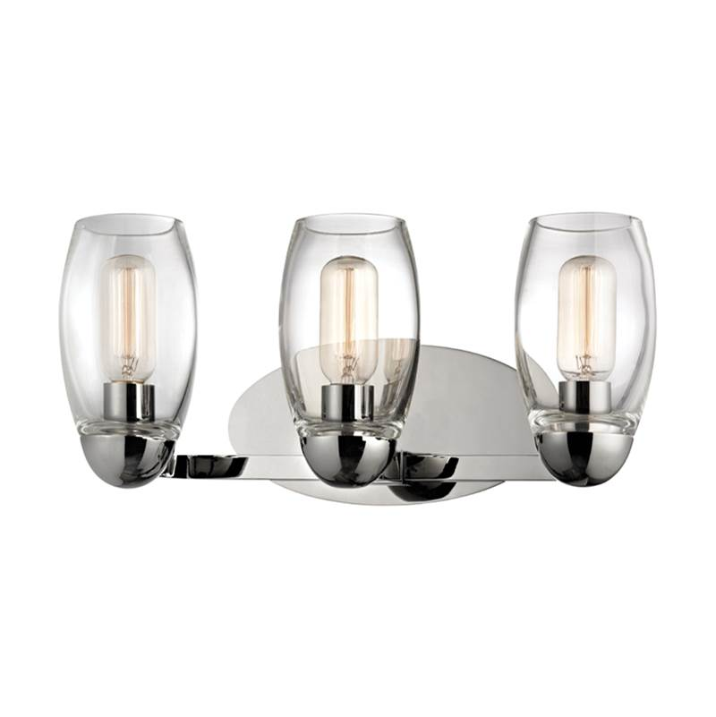 Hudson Valley Lighting Three Light Vanity Bathroom Lights item 8843-PN