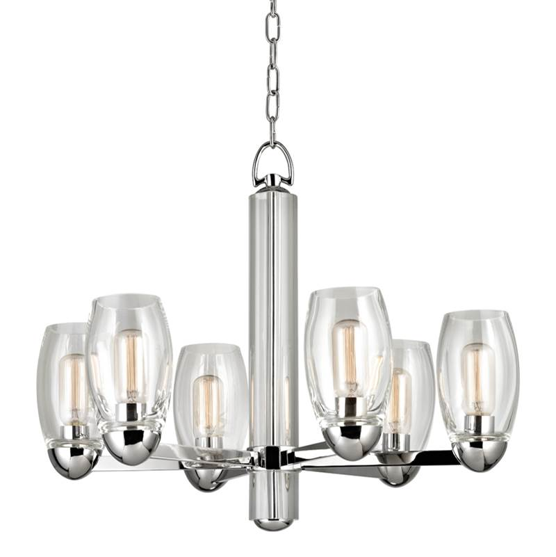 Hudson Valley Lighting Single Tier Chandeliers item 8846-PN