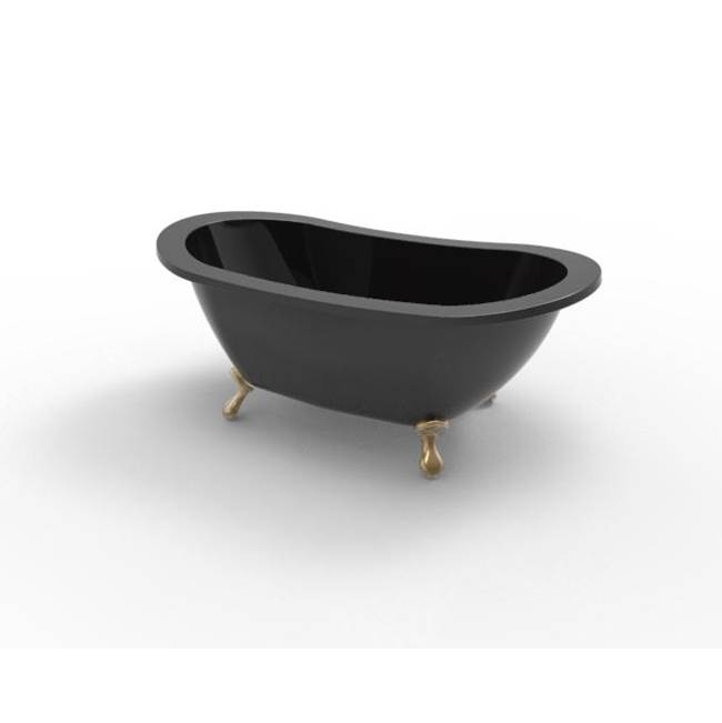 Hydrosystems Clawfoot Soaking Tubs item AND7238HTO-BLA