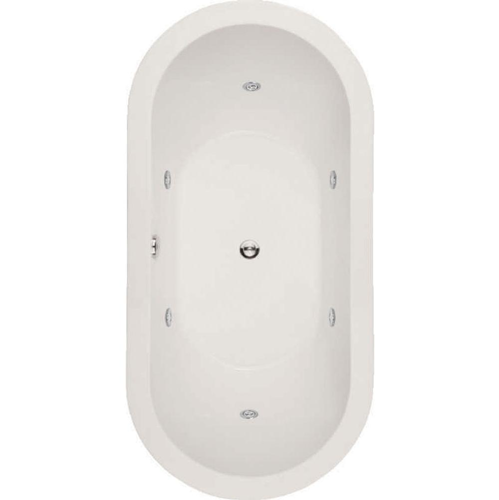 Hydro Systems Drop In Whirlpool Bathtubs item ELL7236AWP-WHI