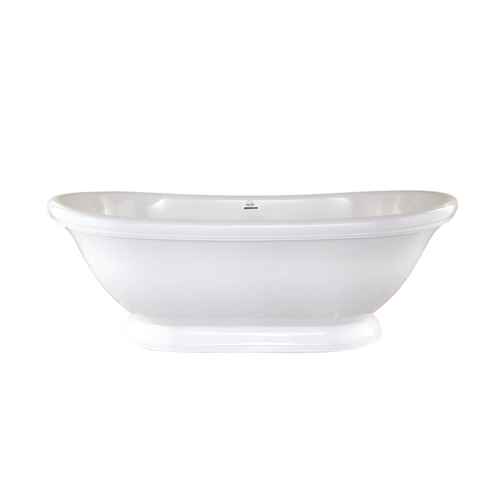 Hydro Systems Free Standing Soaking Tubs item GEO7035HTO-WHI