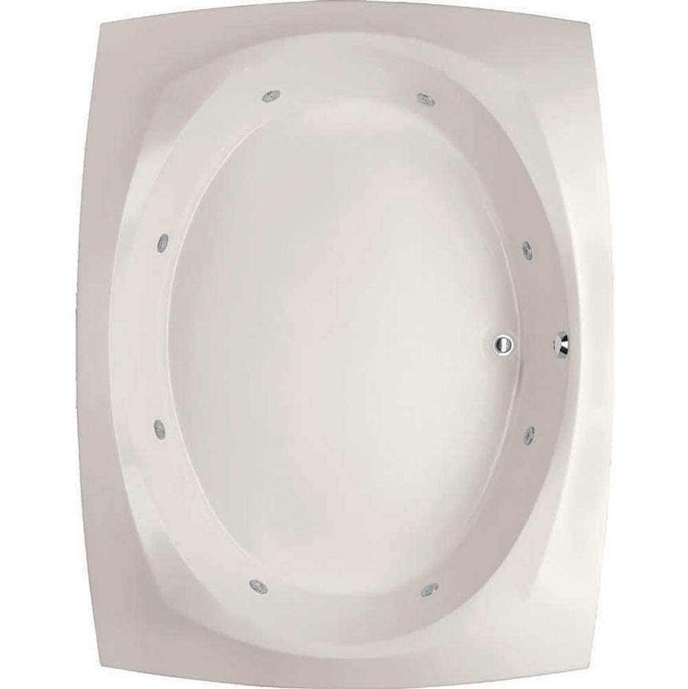 Hydro Systems Drop In Whirlpool Bathtubs item LAR8264GWP-ALM