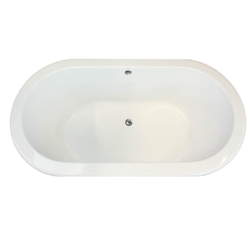 Hydro Systems Drop In Soaking Tubs item PAL6636ATO-WHI