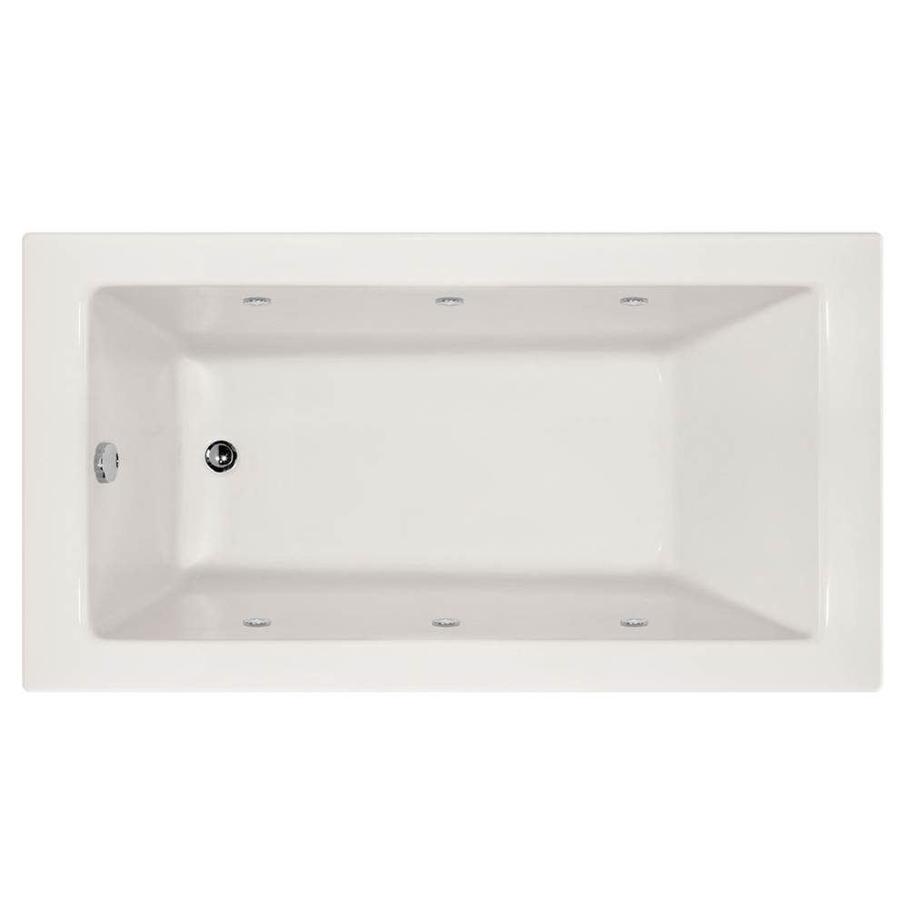 Hydro Systems Drop In Whirlpool Bathtubs item SYD7240AWP-WHI-LH