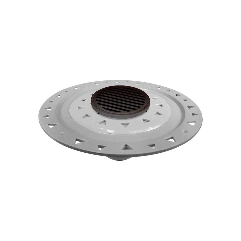Infinity Drain Flanged Commercial Drainage item RNDB 5-P ORB