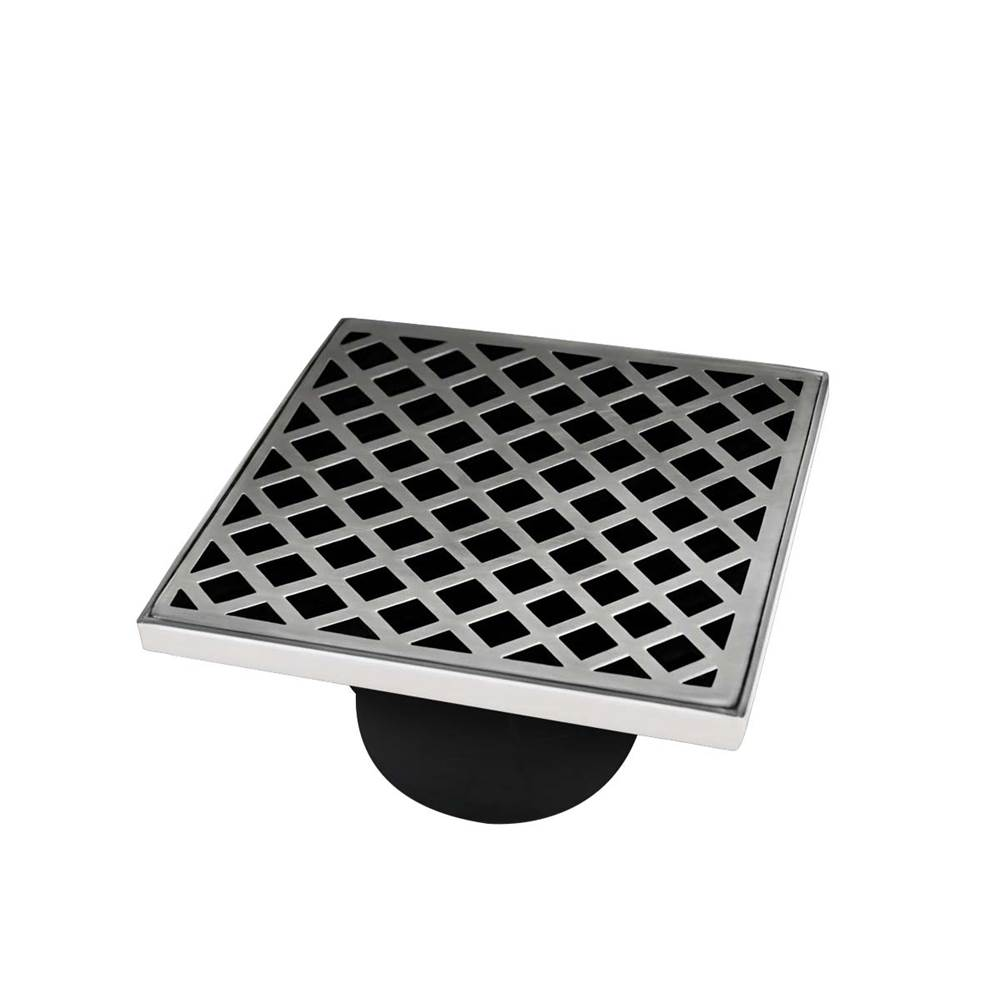 Infinity Drain Parts Shower Drains item XD 5-2A SS