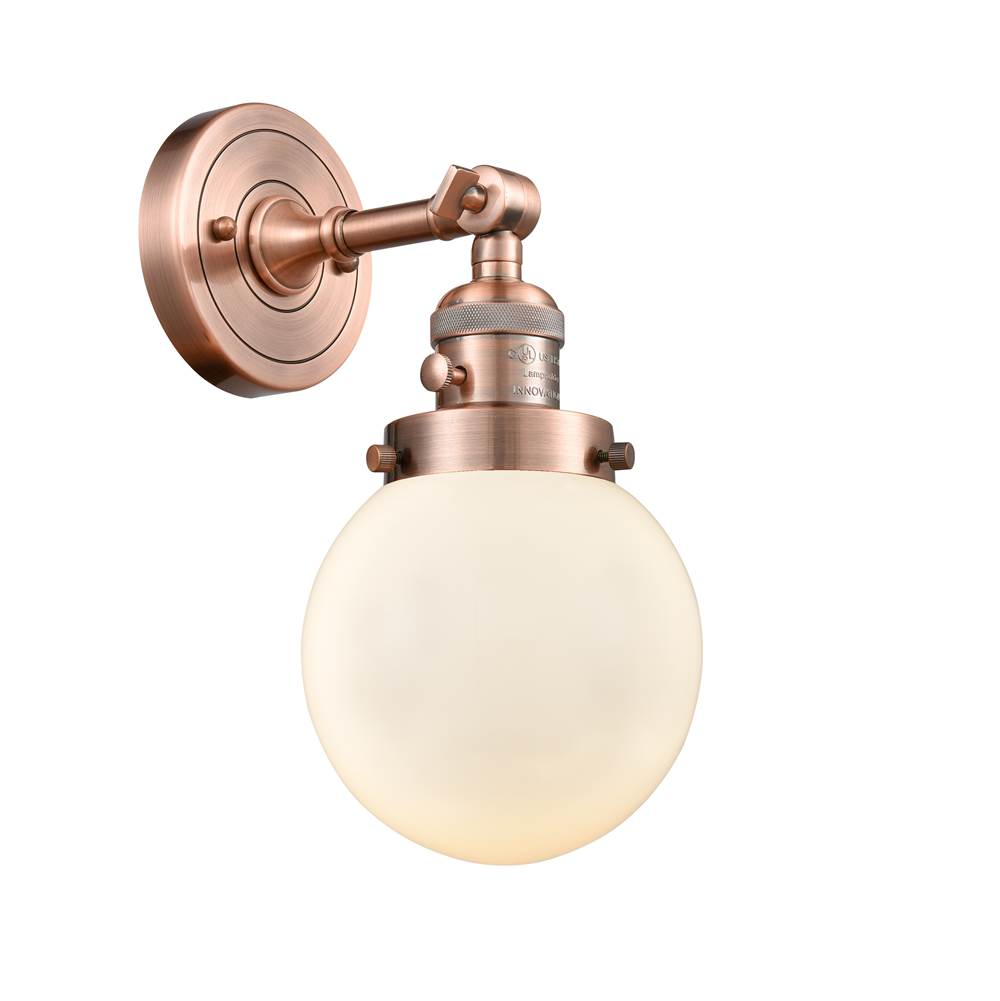 Innovations Sconce Wall Lights item 203SW-AC-G201-6