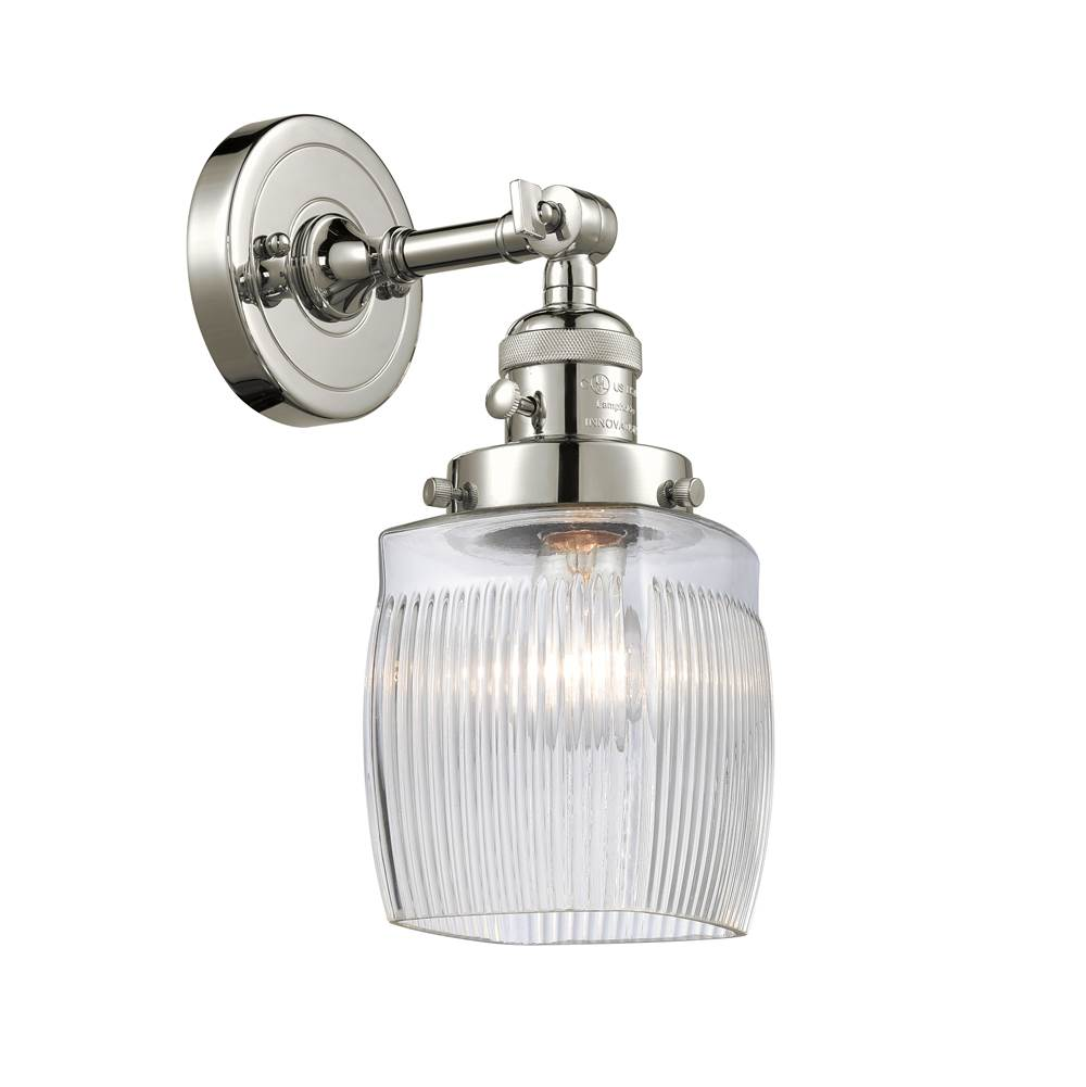 Innovations Sconce Wall Lights item 203SW-PN-G302