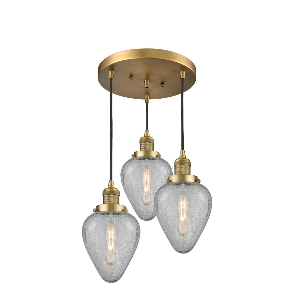 Innovations  Chandeliers item 211/3-BB-G165