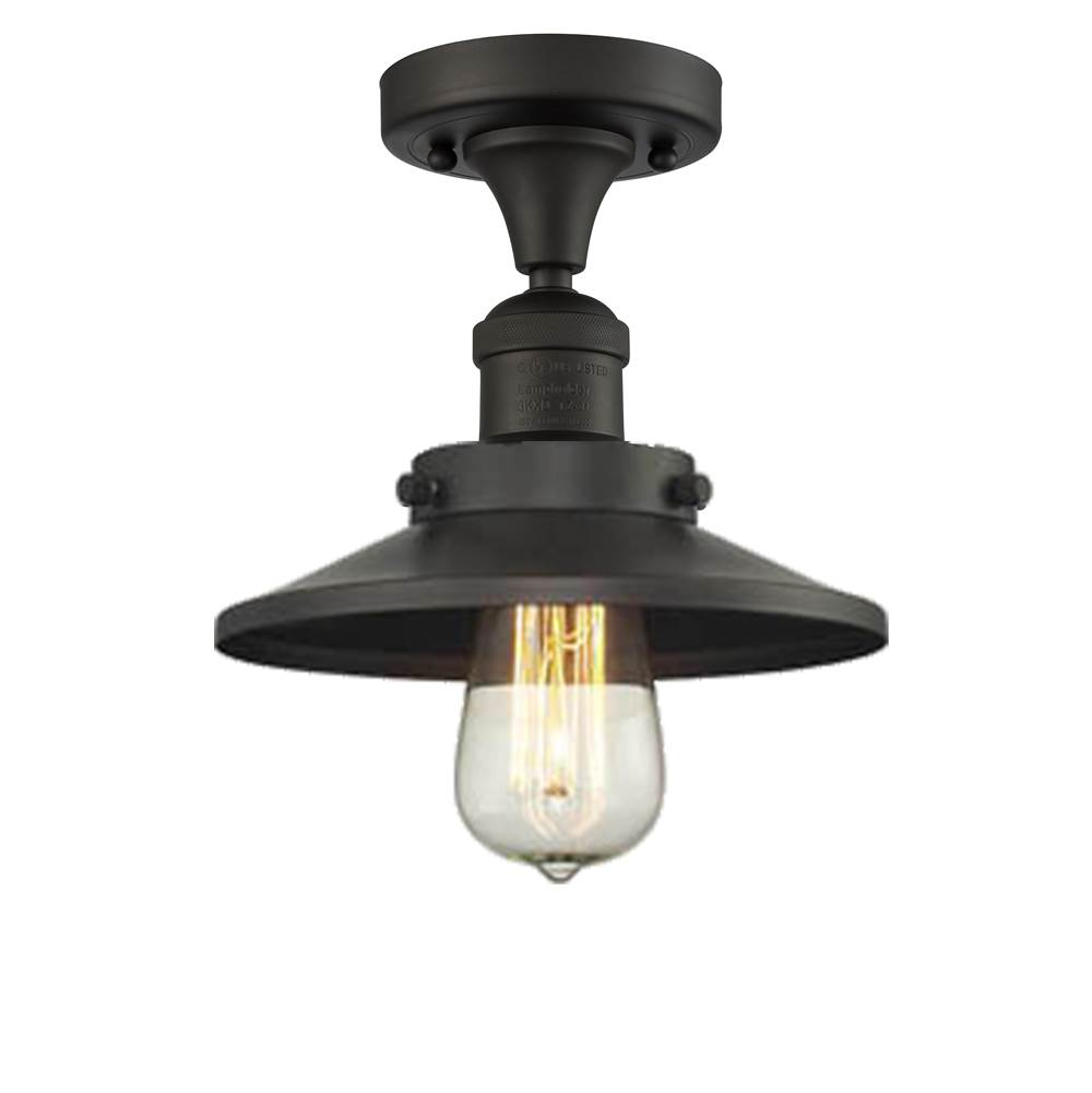 Innovations Semi Flush Ceiling Lights item 517-1CH-OB-M5