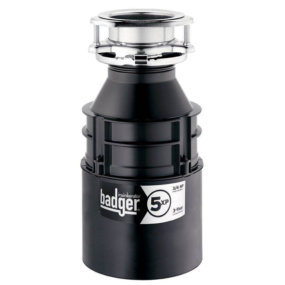 Insinkerator Pro Series  Garbage Disposals item BADGER 5XP
