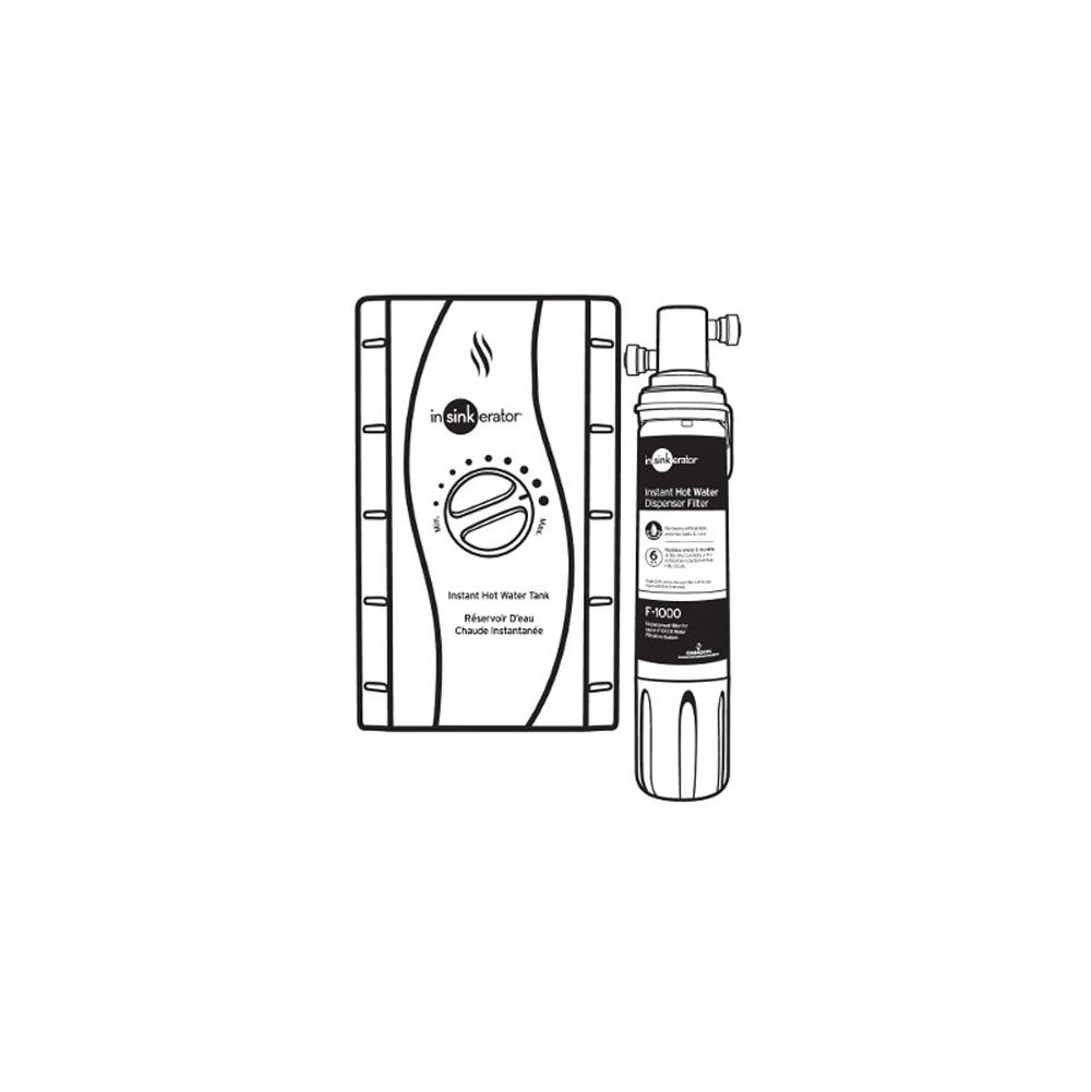Insinkerator Pro Series Hot Water Water Dispensers item HWT-F1000S