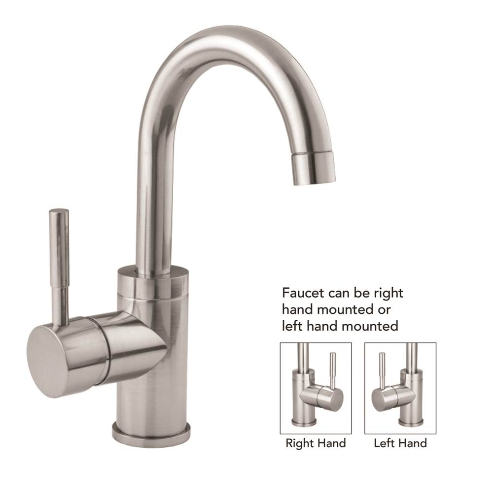 Jaclo Single Hole Kitchen Faucets item 6677-812-PB