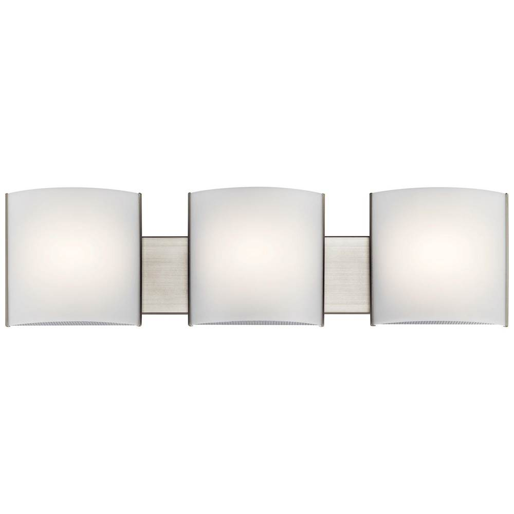 Kichler Lighting Three Light Vanity Bathroom Lights item 10799NILED