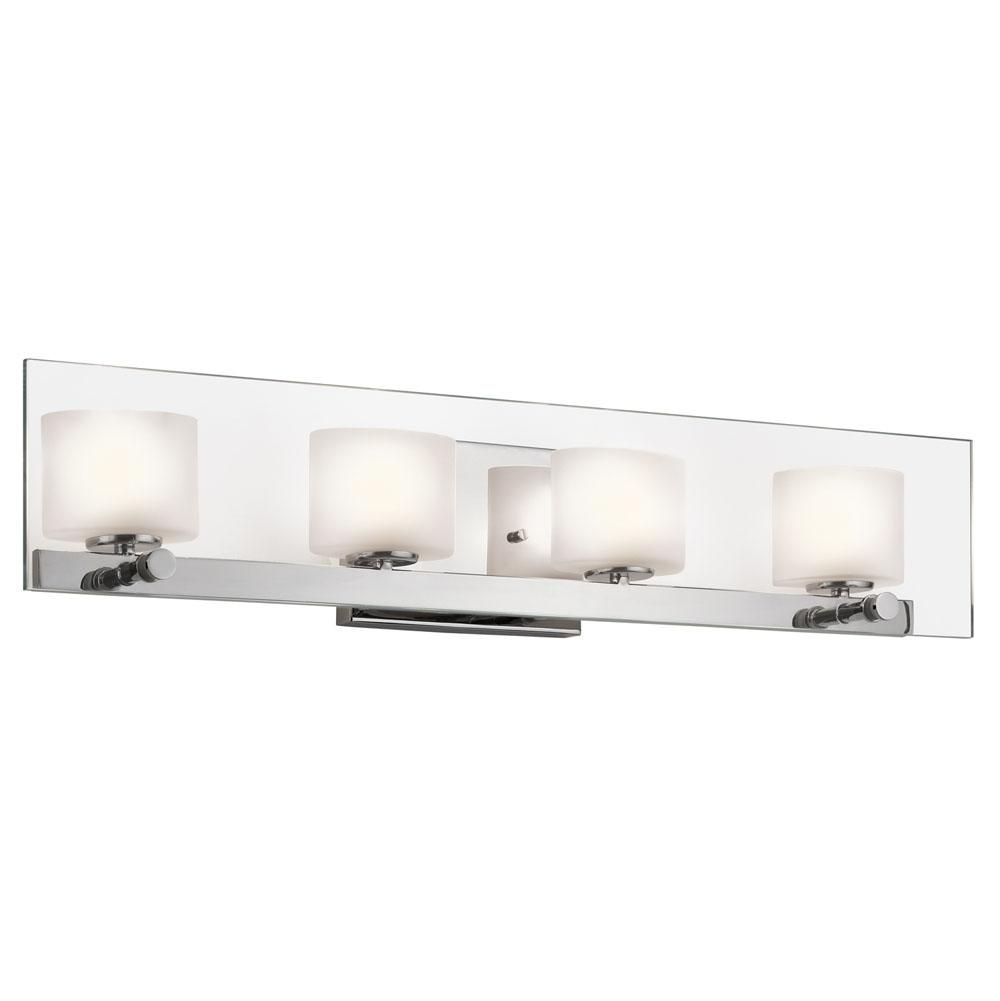 Kichler Lighting Four Light Vanity Bathroom Lights item 45173CH
