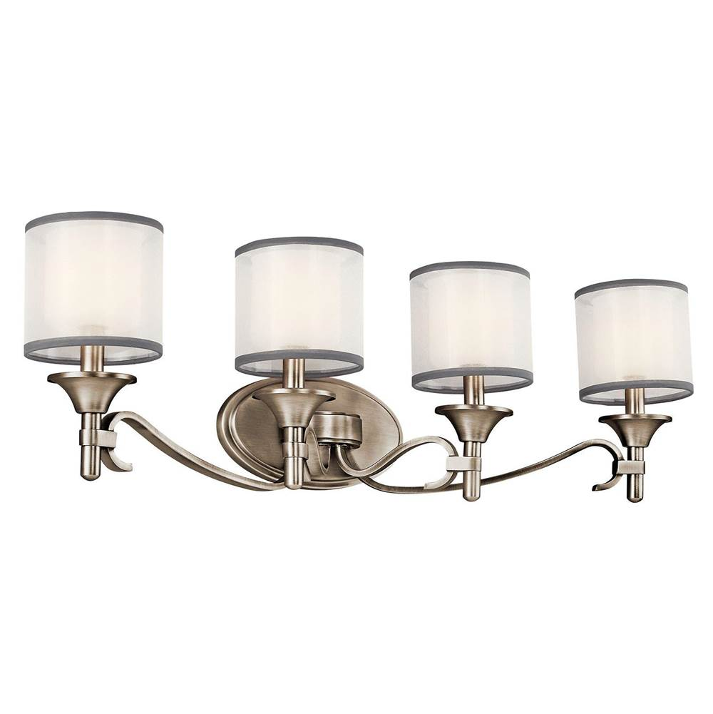 Kichler Lighting Four Light Vanity Bathroom Lights item 45284AP