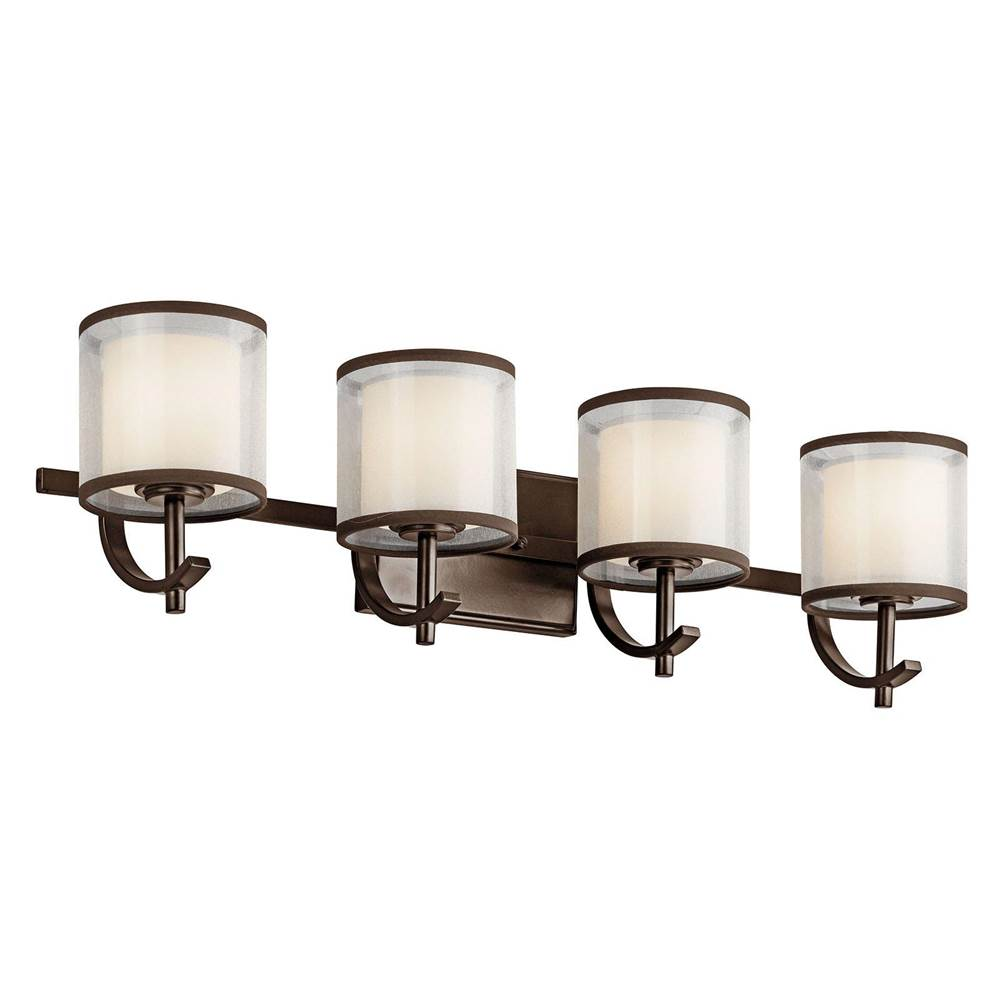 Kichler Lighting Four Light Vanity Bathroom Lights item 45452MIZ