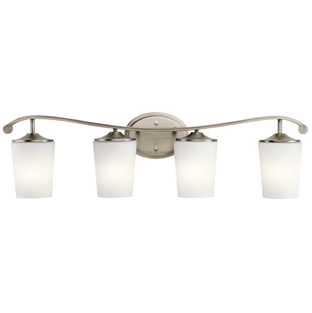 Kichler Lighting Four Light Vanity Bathroom Lights item 45598AP