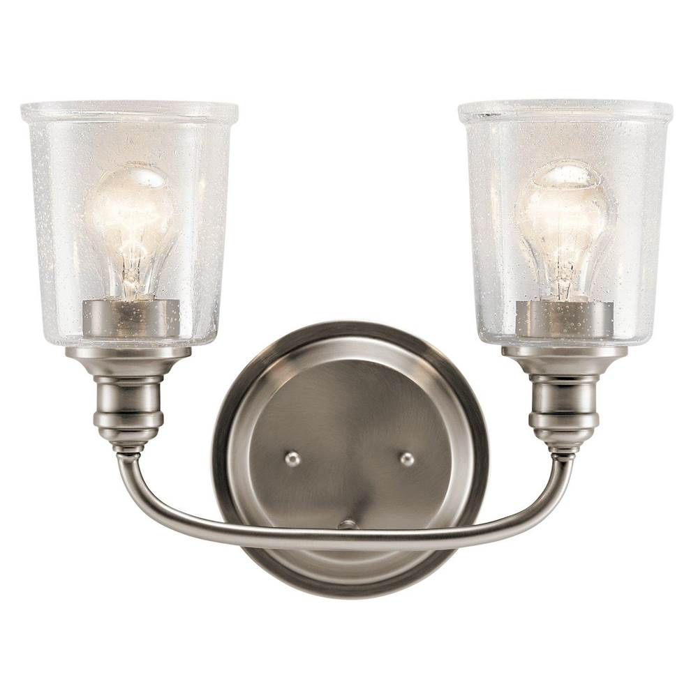 Kichler Lighting Two Light Vanity Bathroom Lights item 45746CLP