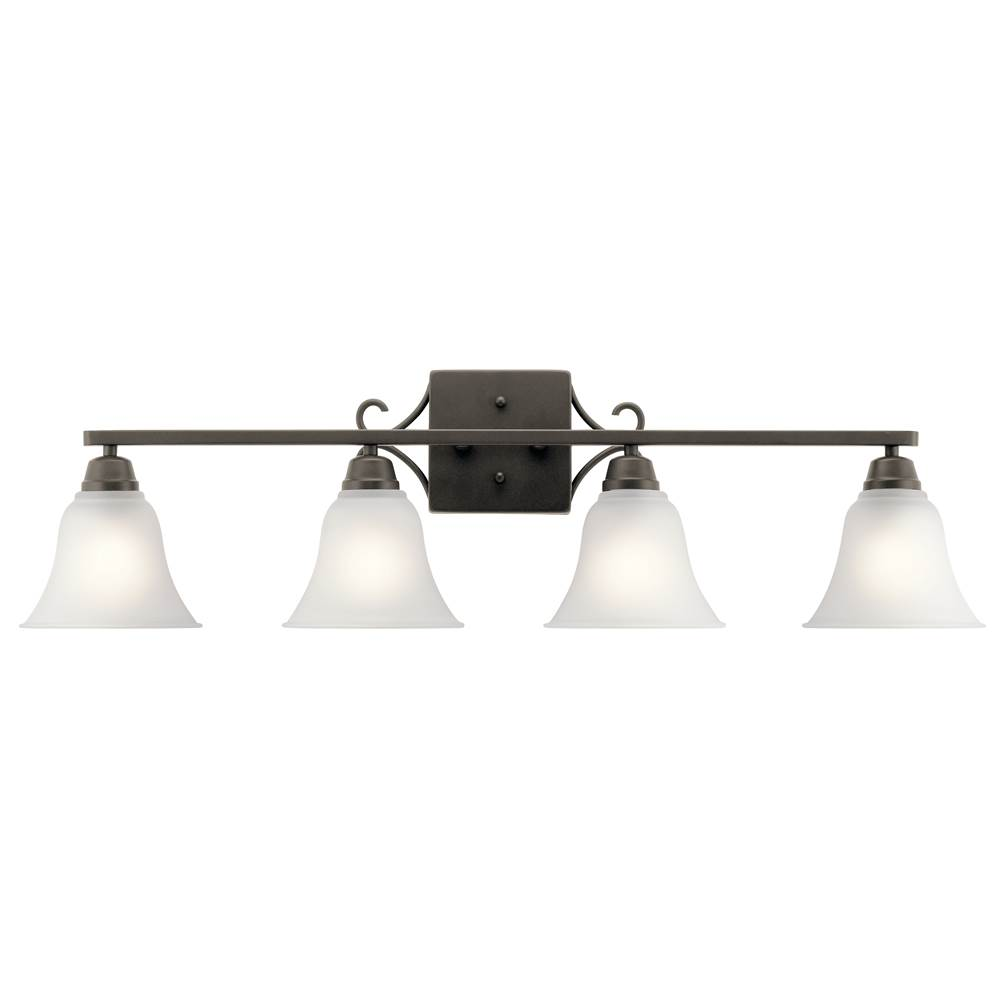 Kichler Lighting Four Light Vanity Bathroom Lights item 45941OZ