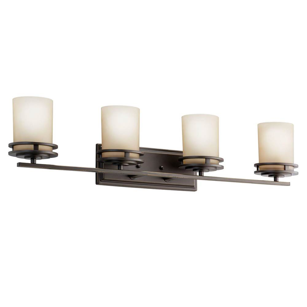 Kichler Lighting Four Light Vanity Bathroom Lights item 5079OZ