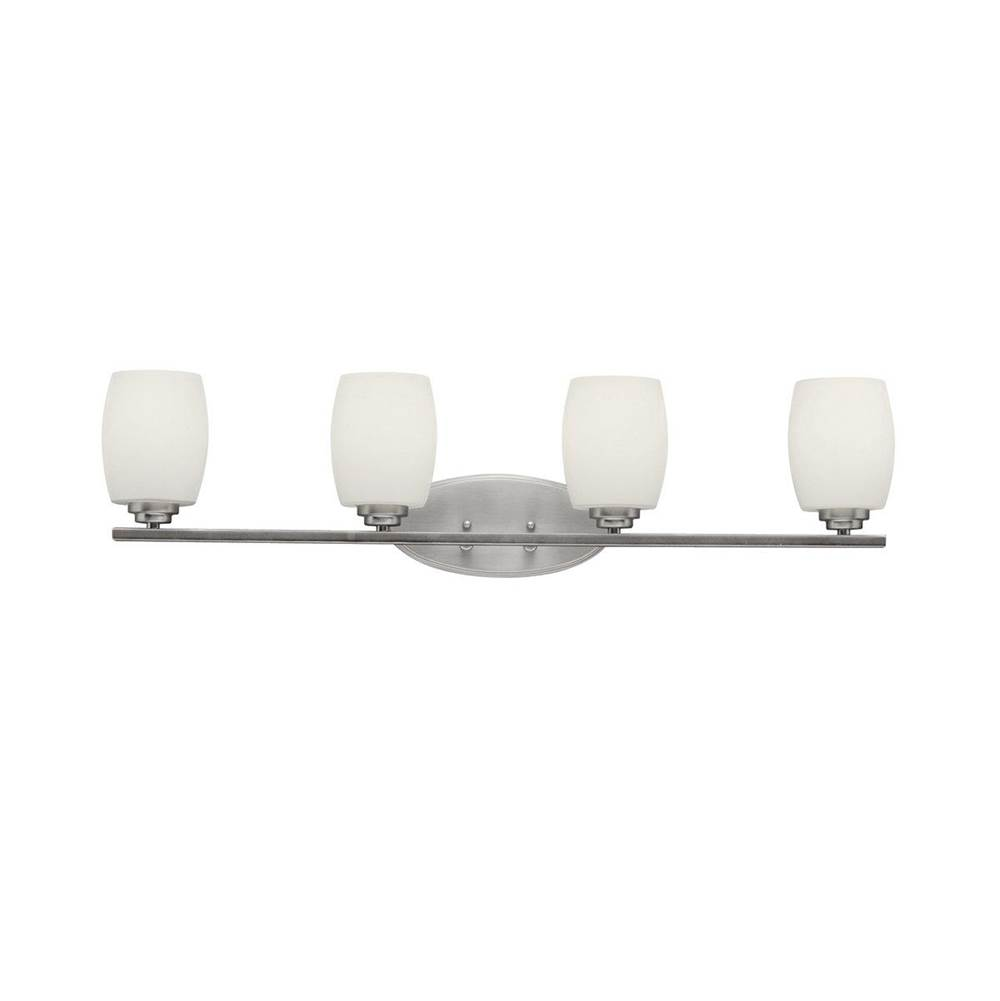 Kichler Lighting Four Light Vanity Bathroom Lights item 5099NIL18
