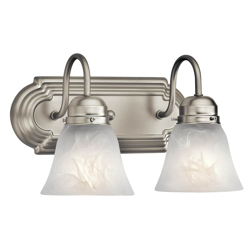 Kichler Lighting Two Light Vanity Bathroom Lights item 5336NI