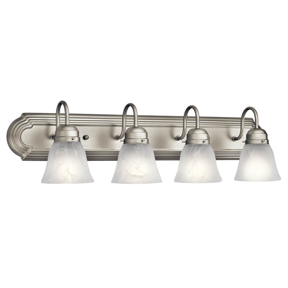 Kichler Lighting Four Light Vanity Bathroom Lights item 5338NI