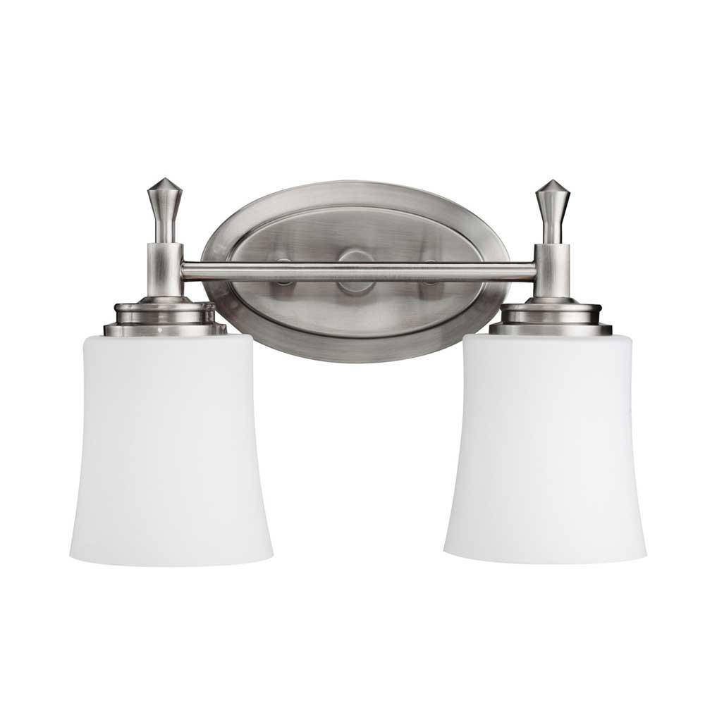 Kichler Lighting Two Light Vanity Bathroom Lights item 5360NI