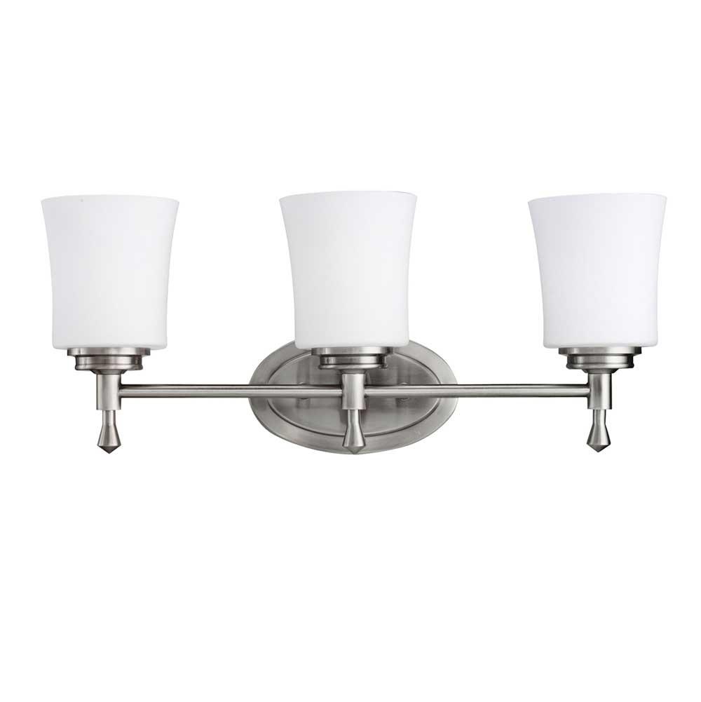 Kichler Lighting Three Light Vanity Bathroom Lights item 5361NI