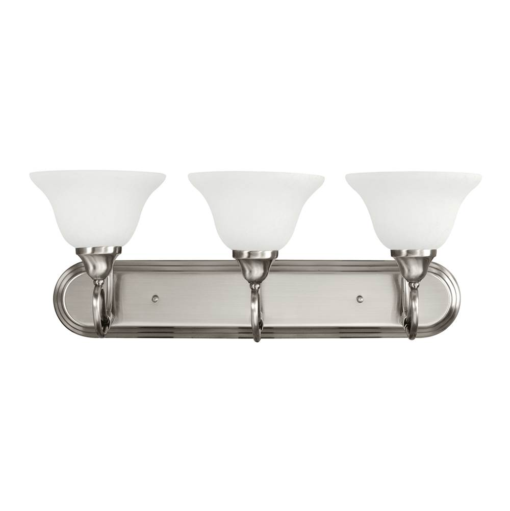 Kichler Lighting Three Light Vanity Bathroom Lights item 5558AP