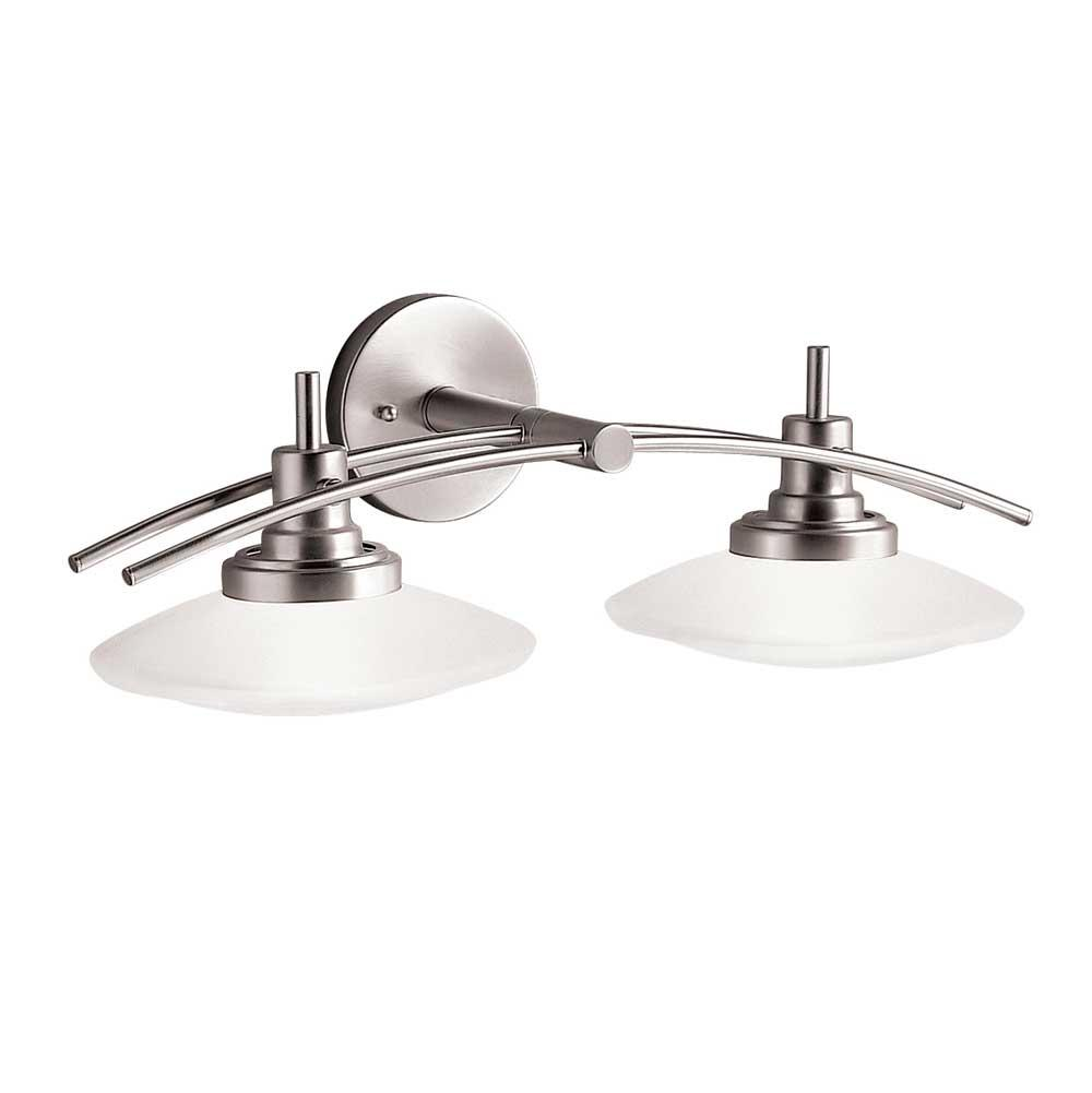 Kichler Lighting Two Light Vanity Bathroom Lights item 6162NI