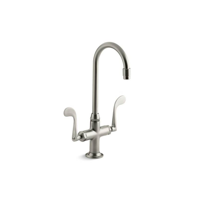 Kohler Bar Sink Faucets Vibrant Brushed Nickel Kitchens And Baths