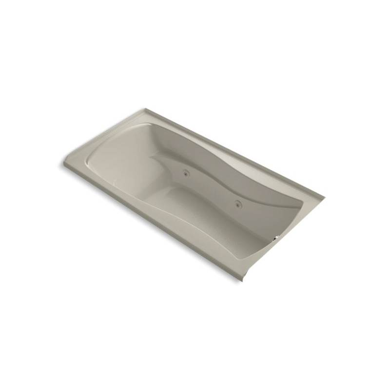 Kohler Three Wall Alcove Whirlpool Bathtubs item 1257-RW-G9